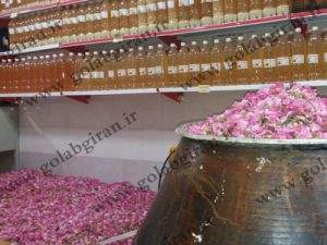 فروشنده گلاب کاشان
